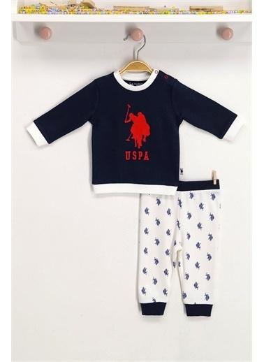 U.S. Polo Assn. Lisanslı Lacivert Bebek Takım Lacivert